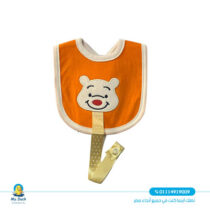 bib with soother hanger