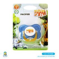 Safari silicone baby pacifier - cherry shape (0-6)