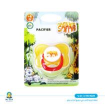 Safari baby pacifier - universal silicone (6-18)