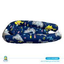 My Duck baby mattress with net - Shark