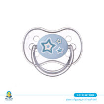 Canpol silicone soother / 0-6 Months- blue color