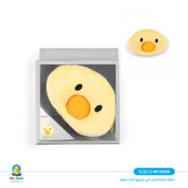 Infant head pillow from junior duck shaped